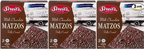 Streits Matzo Milk Chocolate - Kosher For Passover, 7 Oz Box