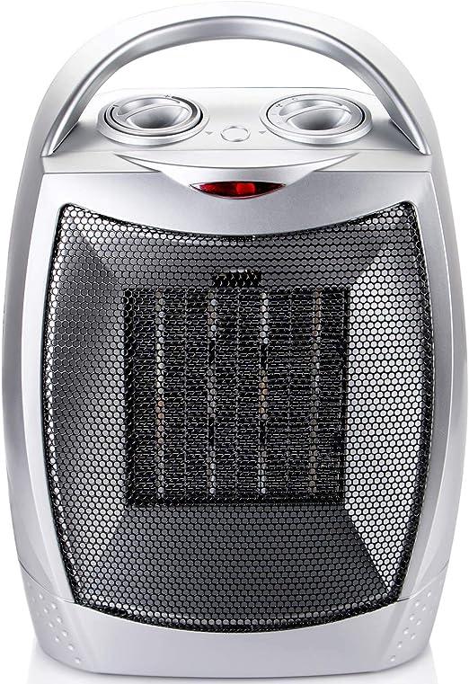 Amazon Com 700w 1500w Ceramic Space Heater With Adjustable