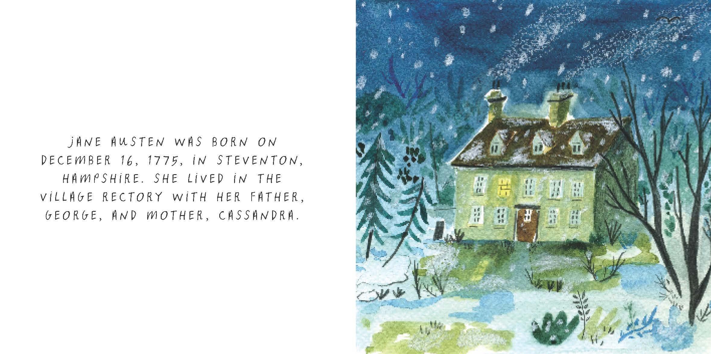 Library Of Luminaries Jane Austen An Illustrated Biography Zena Alkayat Nina Cosford 9781452150215 Amazon Books
