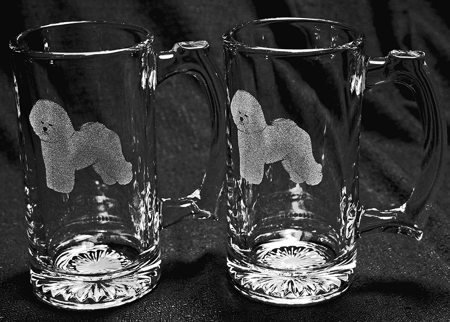 Bichon Frise Beer Mugs