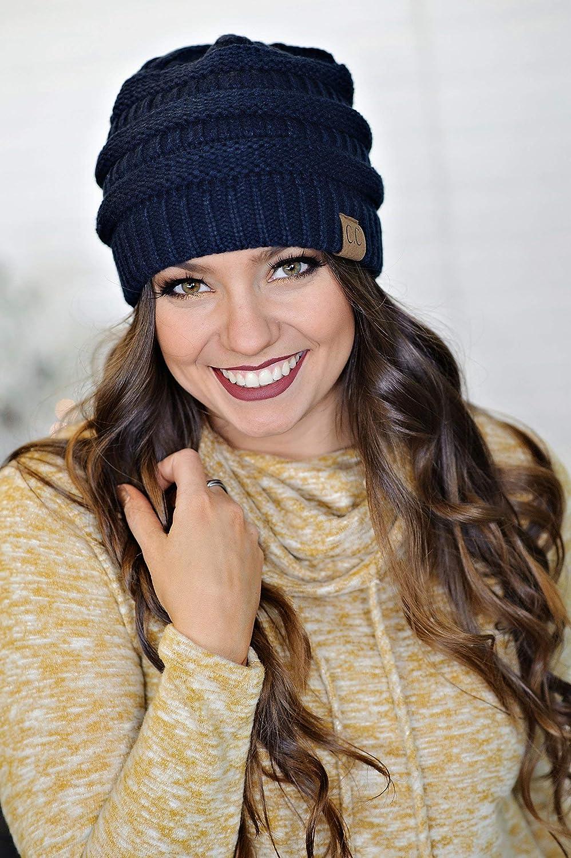 Navy Mother//Daughter Winter Hat Bundle