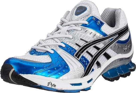 Asics Gel Kinsei tn609 – 0193 – Zapatillas de Running para Hombre, Color Blanco (White/Lightning/Royal o193), Color Blanco, Talla 46.5 EU: Amazon.es: Zapatos y complementos