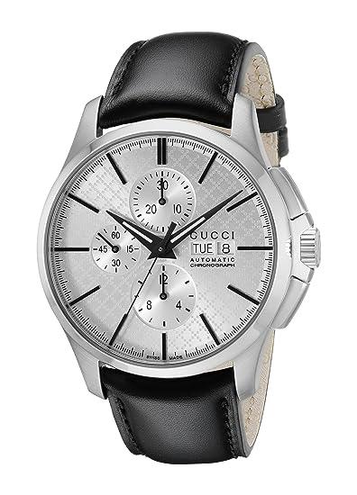 ff9a58f4ae1 Gucci Men s YA126265 G-Timeless Analog Display Swiss Automatic Black Watch   Gucci  Amazon.ca  Watches