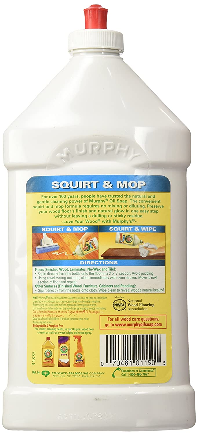 Cleaning hardwood floors with murphy oil soap - Amazon Com Murphys Squirt And Mop Ready To Use Wood Floor Cleaner 32 Ounce Pack Of 3 Health Personal Care