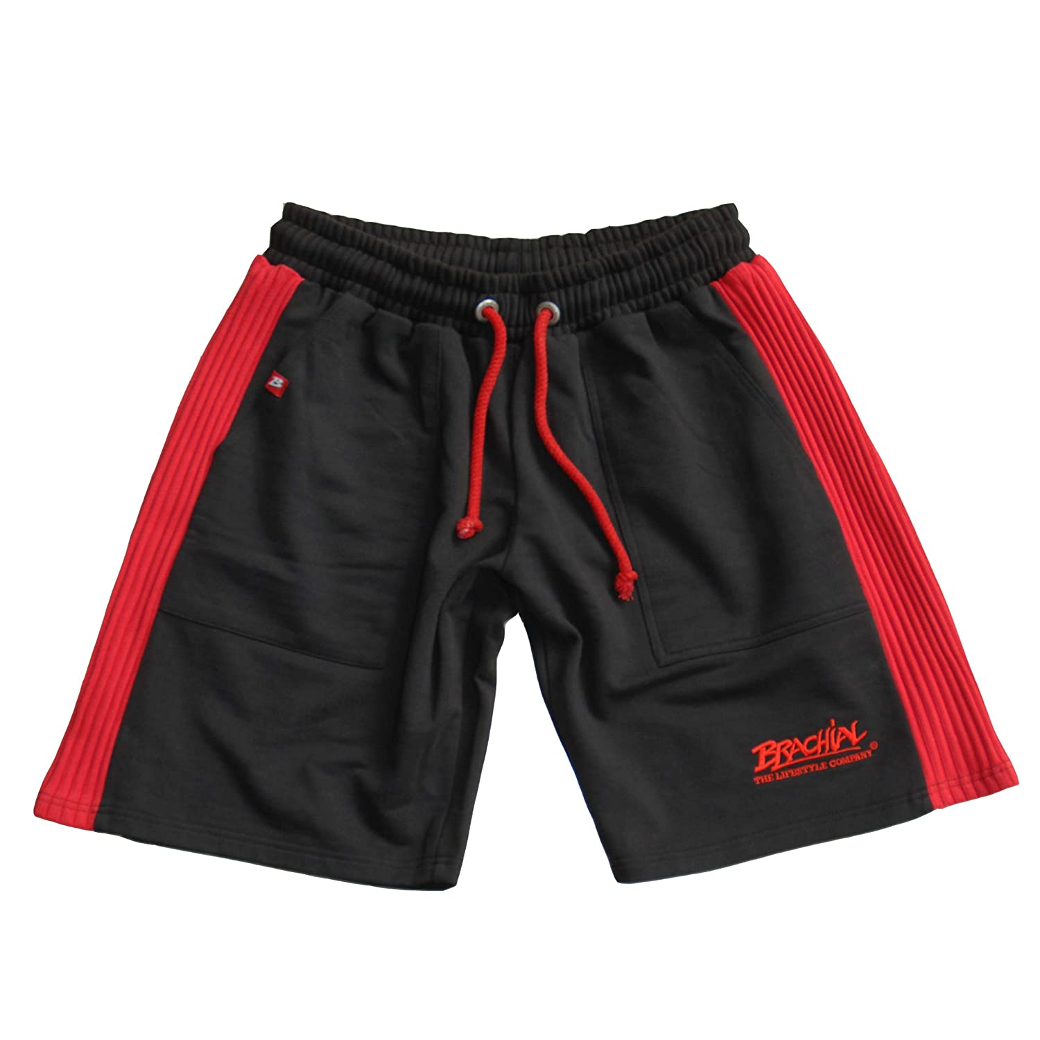 Brachial Short Destroyer schwarz//rot
