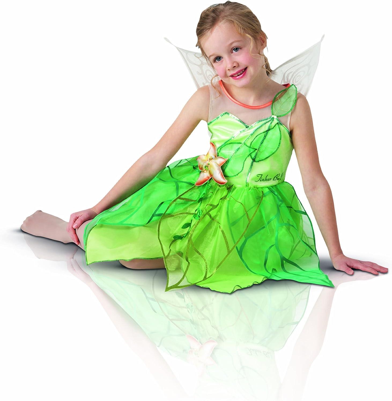 Disney 154549L - Disfraz infantil de Campanilla con alas y ...