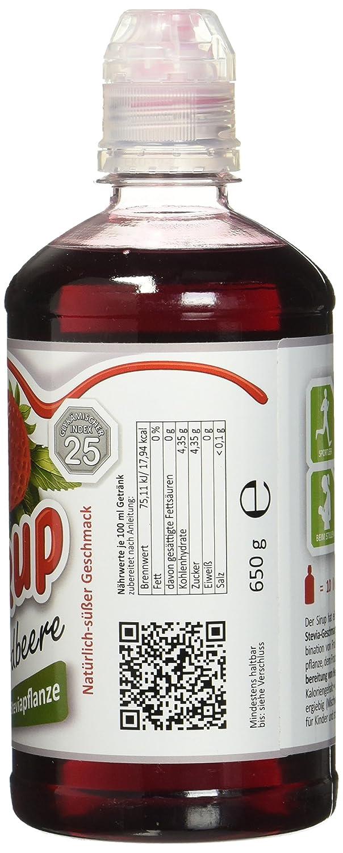 ZuckerStopp Sirup Gartenerdbeere: Amazon.de: Lebensmittel & Getränke