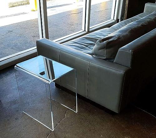16 x 12 x 19 high x 3 8 Clear Acrylic END Table