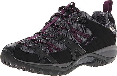 34dd05801e Merrell Women's Siren Sport 2 Waterproof Hiking Shoe,Black/Damson,5 ...