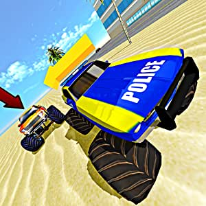 Amazon com: Monster Truck Chase Simulator Free Racing Game