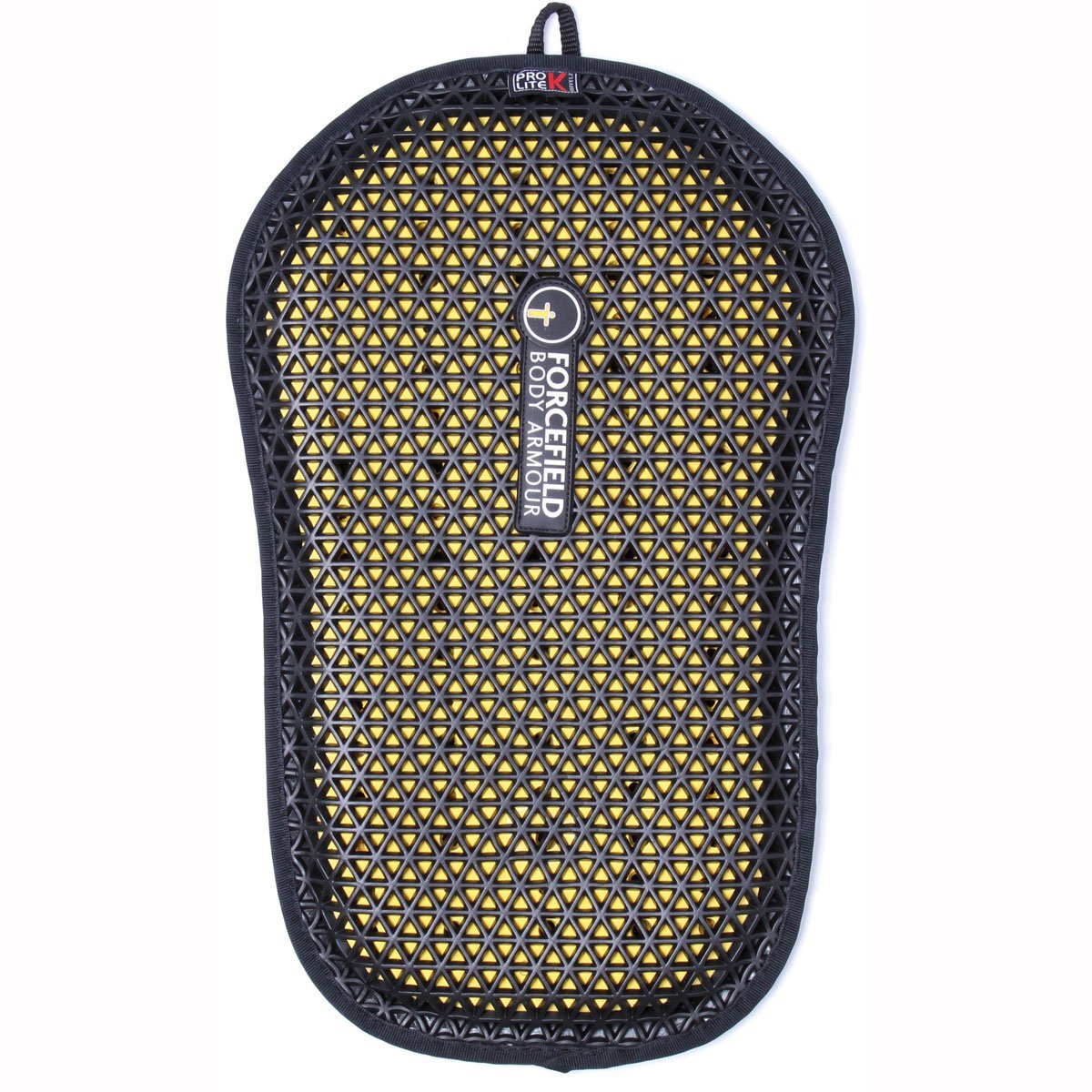 Forcefield Body Armour Pro Lite K Back Insert (BLACK/YELLOW) by Forcefield Body Armour (Image #1)