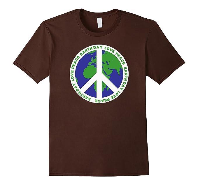 Amazon Love Peace Symbol World Earth Day T Shirt Clothing