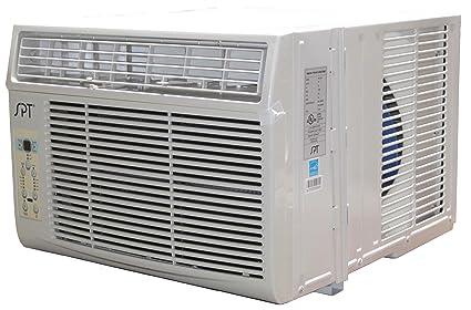 amazon com spt wa 1222s 12 000btu window air conditioner energy