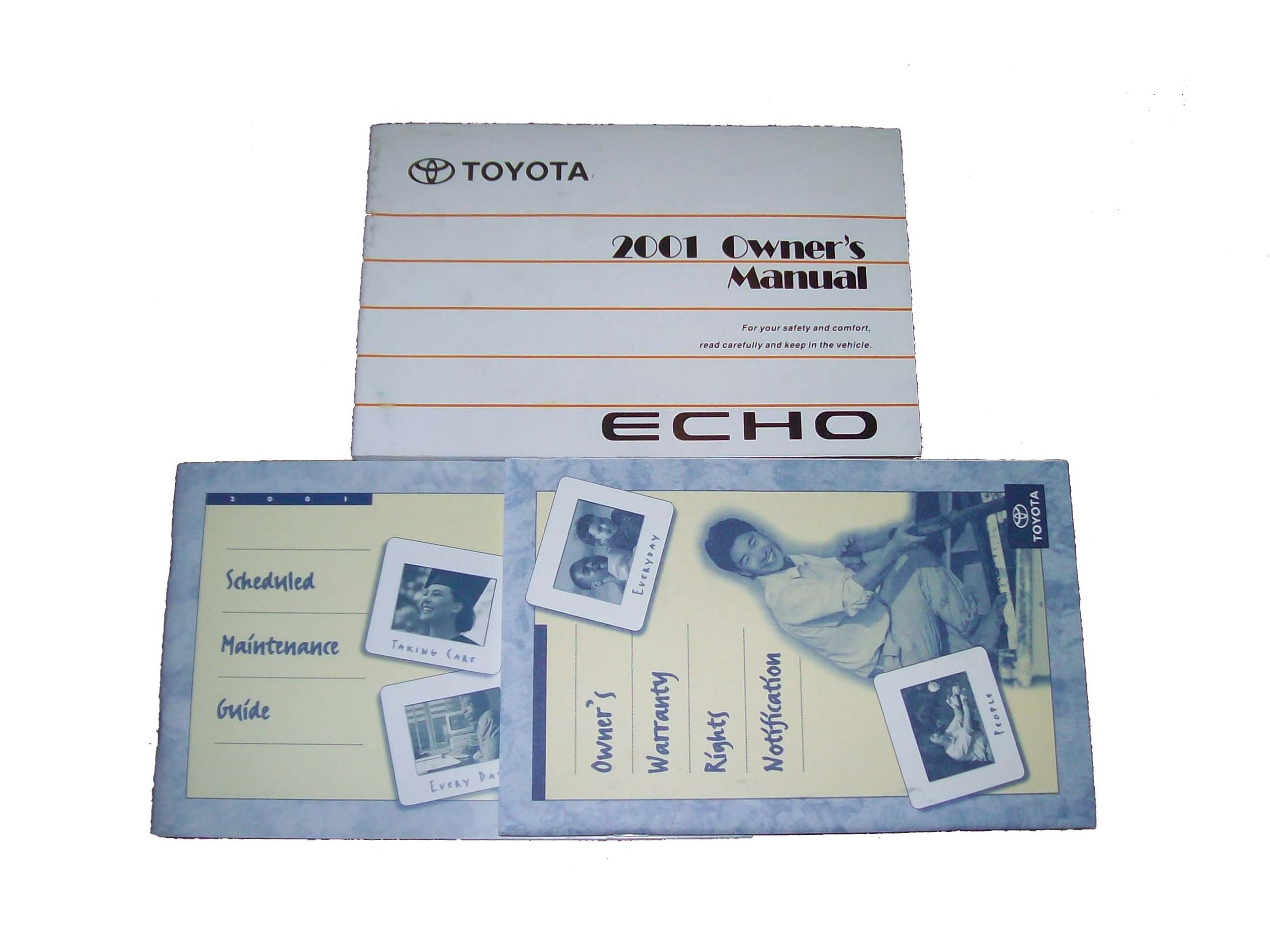 2001 toyota echo owners manual toyota amazon com books rh amazon com Manual Echoj Toyota 2001 Jornrepair Toyota Echo 2001 Carburetor Diagram
