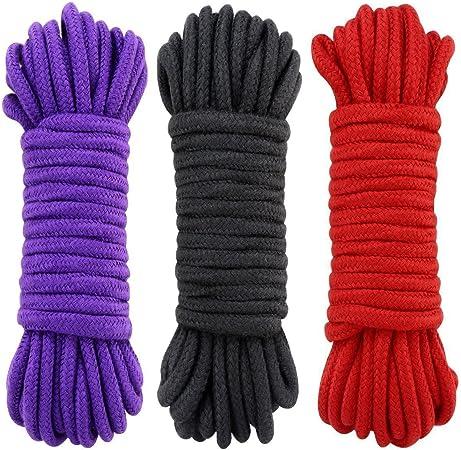 Cuerda de algodón UWIME, cuerda suave de uso múltiple que ata la ...