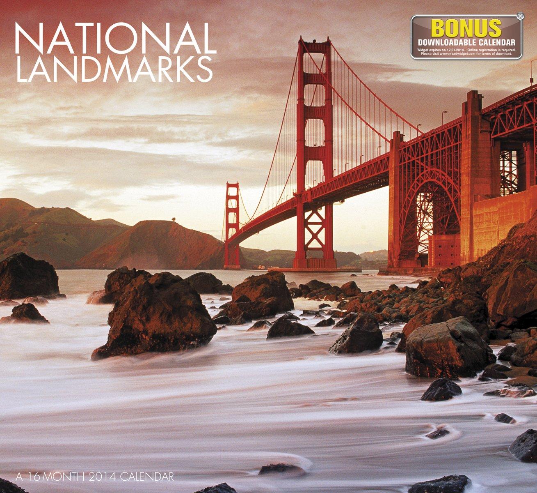 2014 National Landmarks Wall Calendar pdf epub