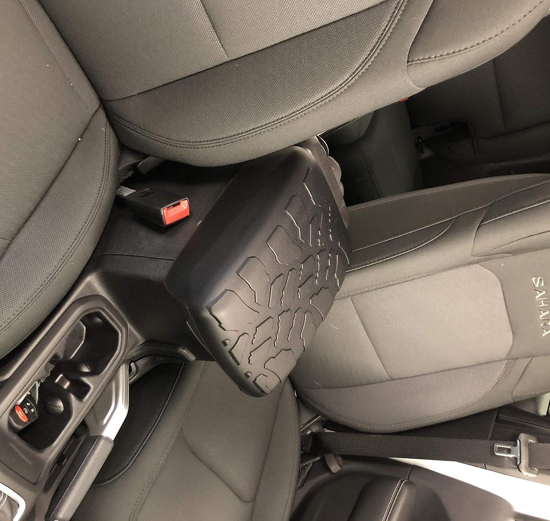 Boomerang 2018+ Jeep Wrangler (JL) Tire Tread ArmPad - Center Console Cover - Armrest Cushion Boomerang Enterprises Inc.