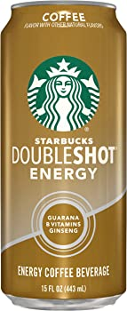12-Pack Starbucks Doubleshot Energy Coffee 15-ounce Cans