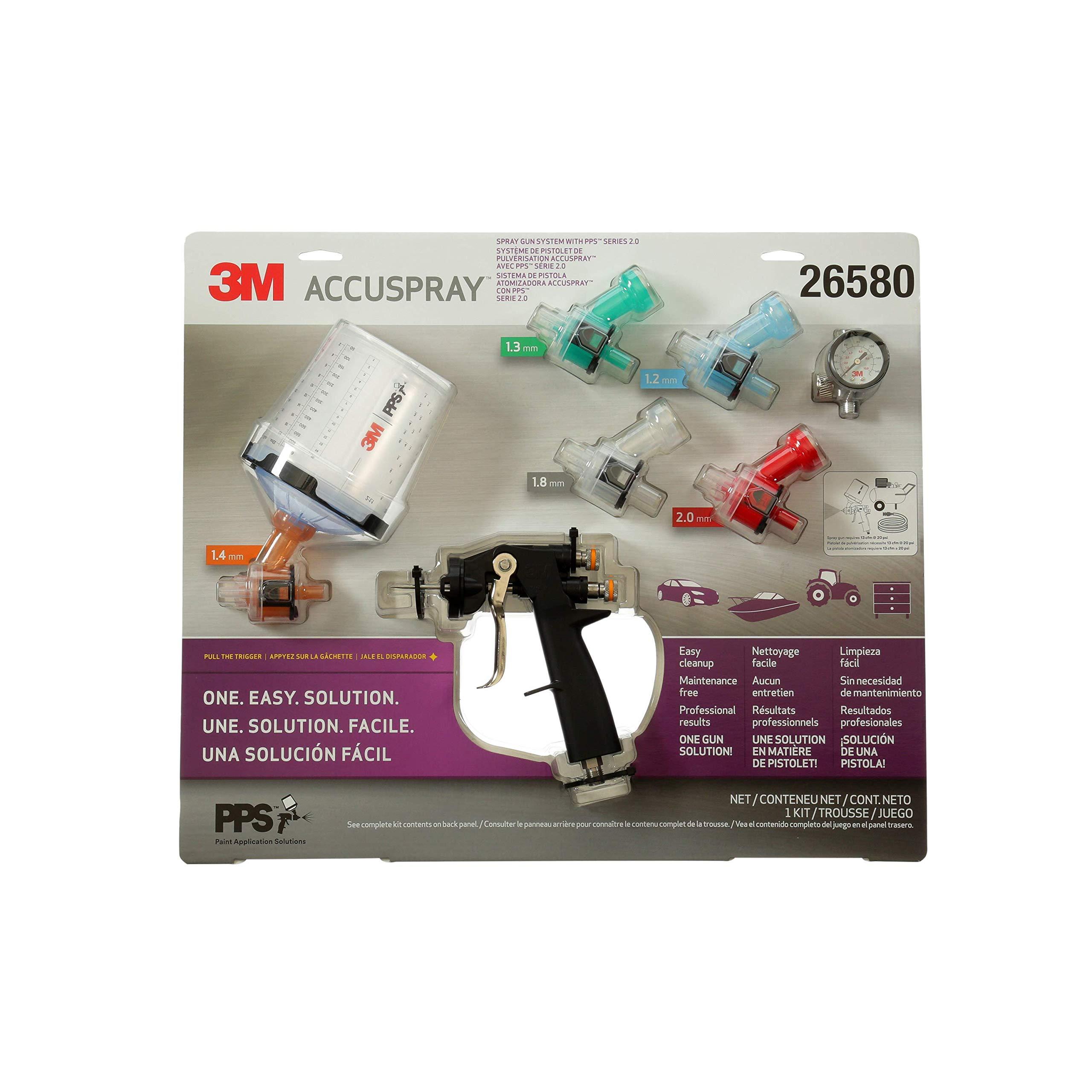 3M 26580 Accuspray ONE Spray Gun System
