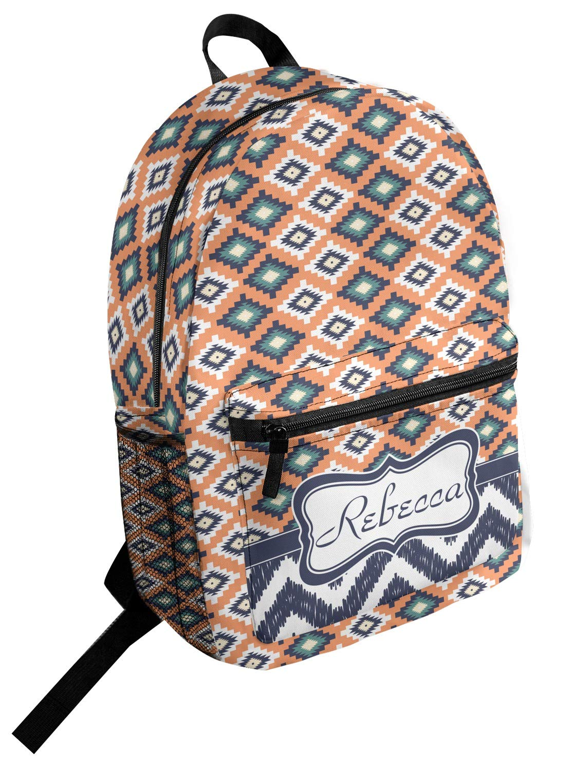 Tribal Student Backpack Personalized