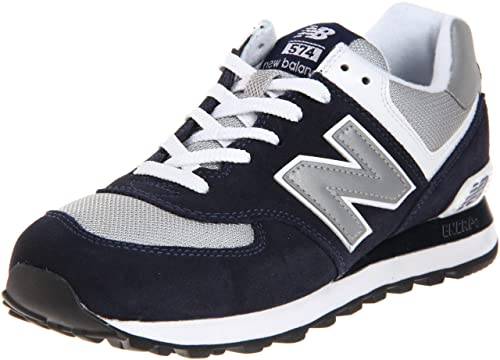 outlet store d52ec 34f87 New Balance Men's ML574 Lifestyle Sneaker, Navy/Grey, 9 D US ...