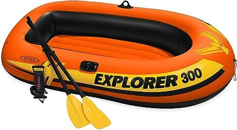 Amazon.com: Intex Explorer 300, Set de Kayak inflable para 3 ...