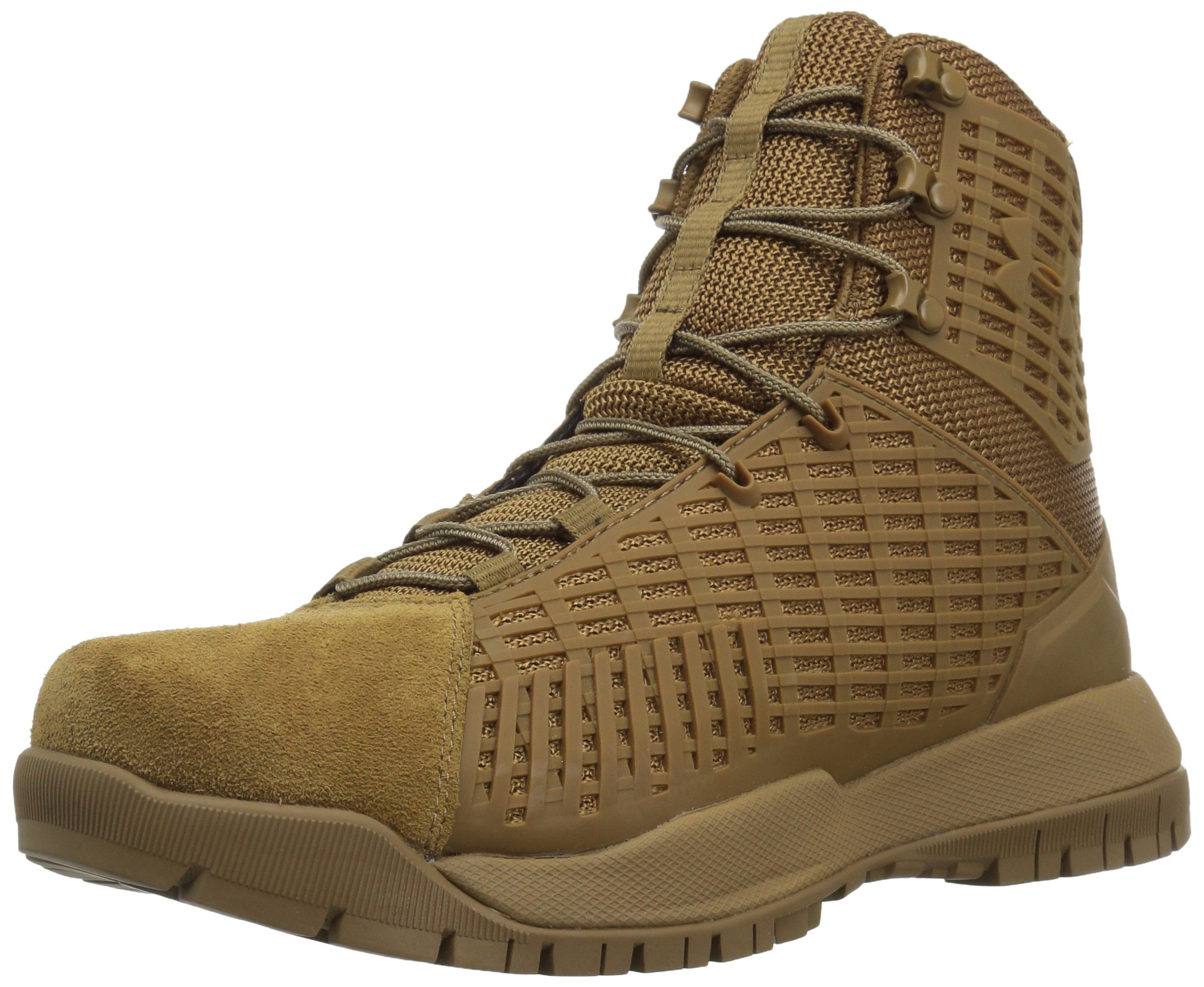 Under Armour Women's Stryker Military and Tactical Boot, (728)/Coyote Brown, 8 by Under Armour