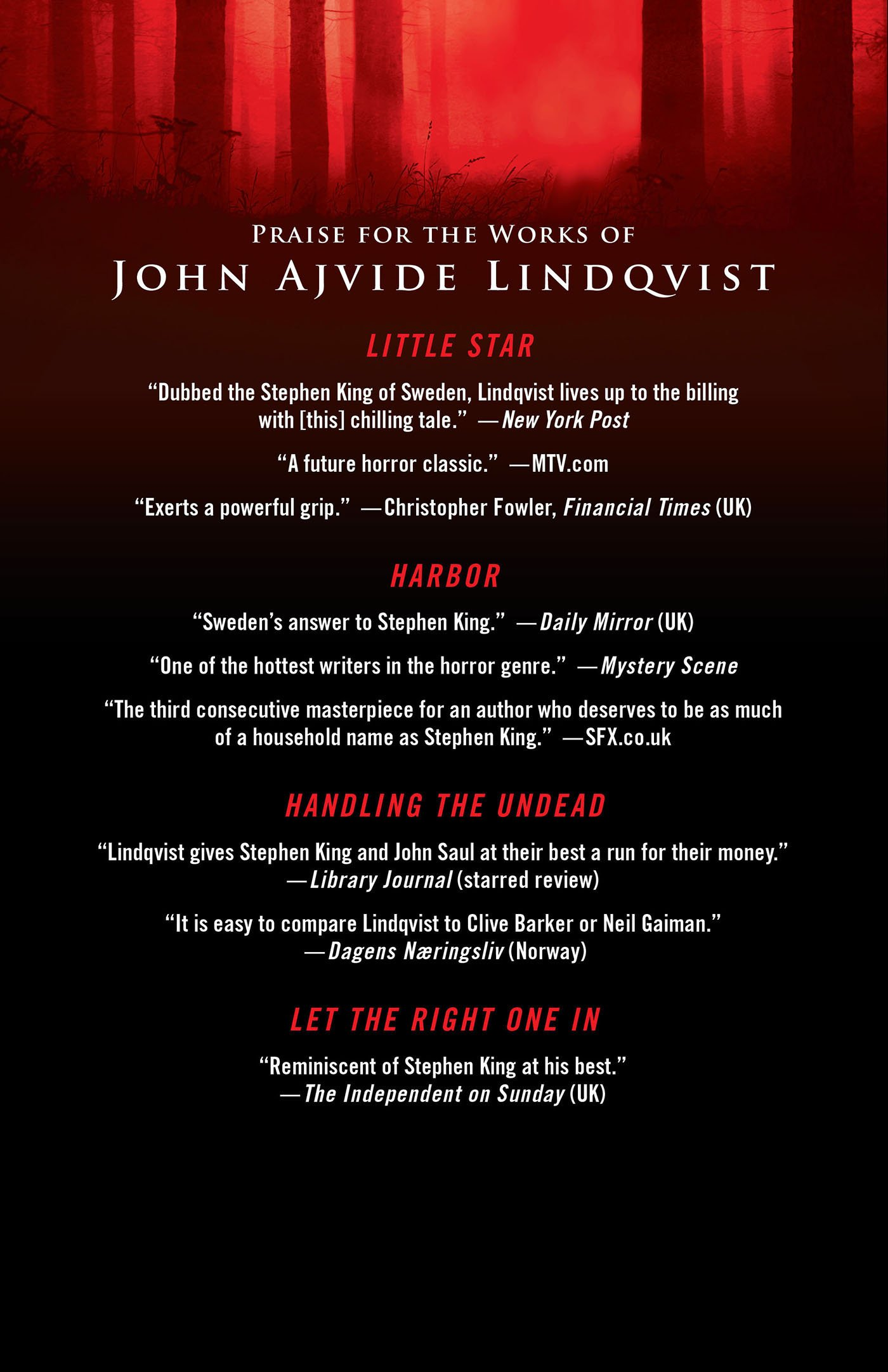 Let The Old Dreams Die: Stories: John Ajvide Lindqvist, Ebba Segerberg:  9780312620530: Amazon: Books
