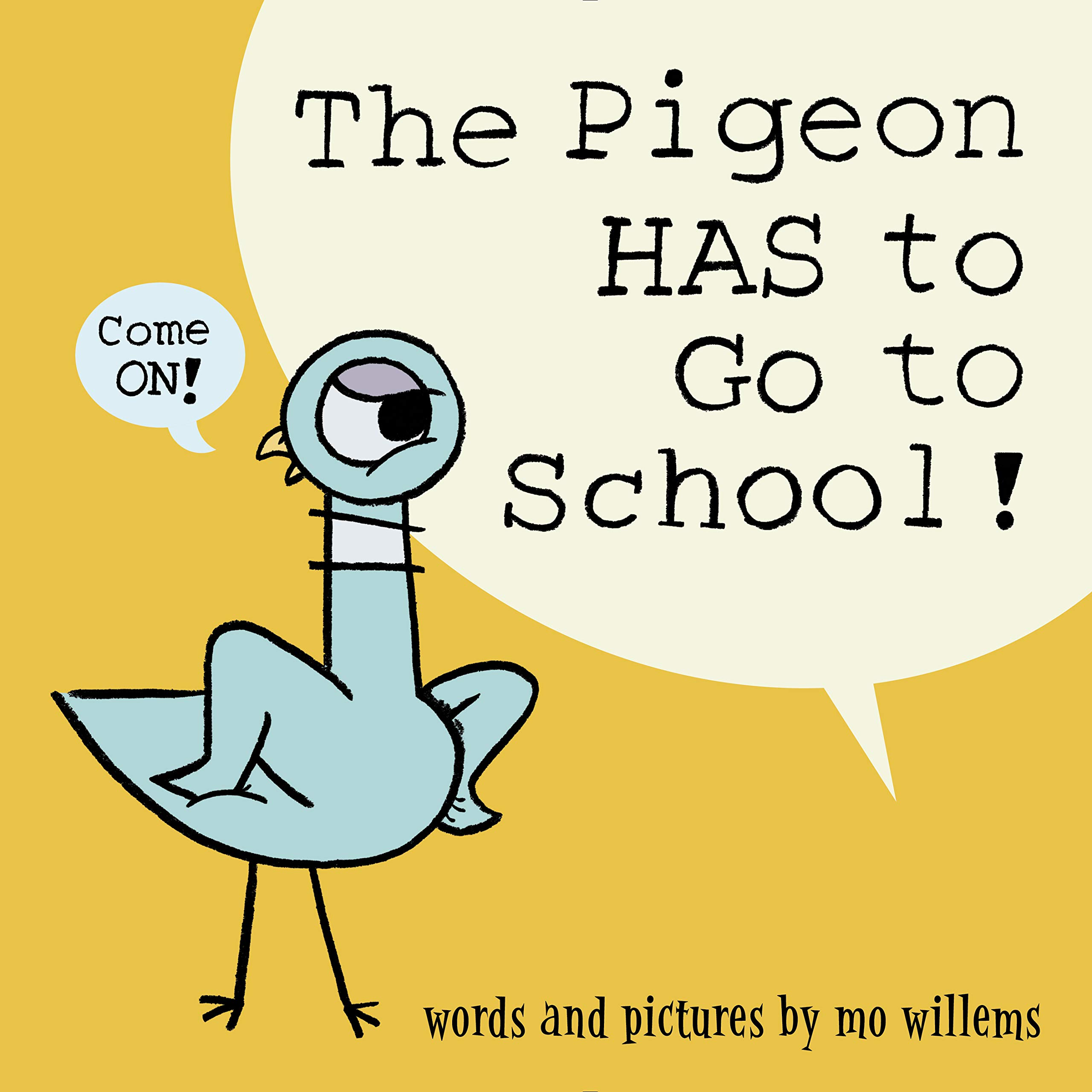Image result for the pigeon has to go to school