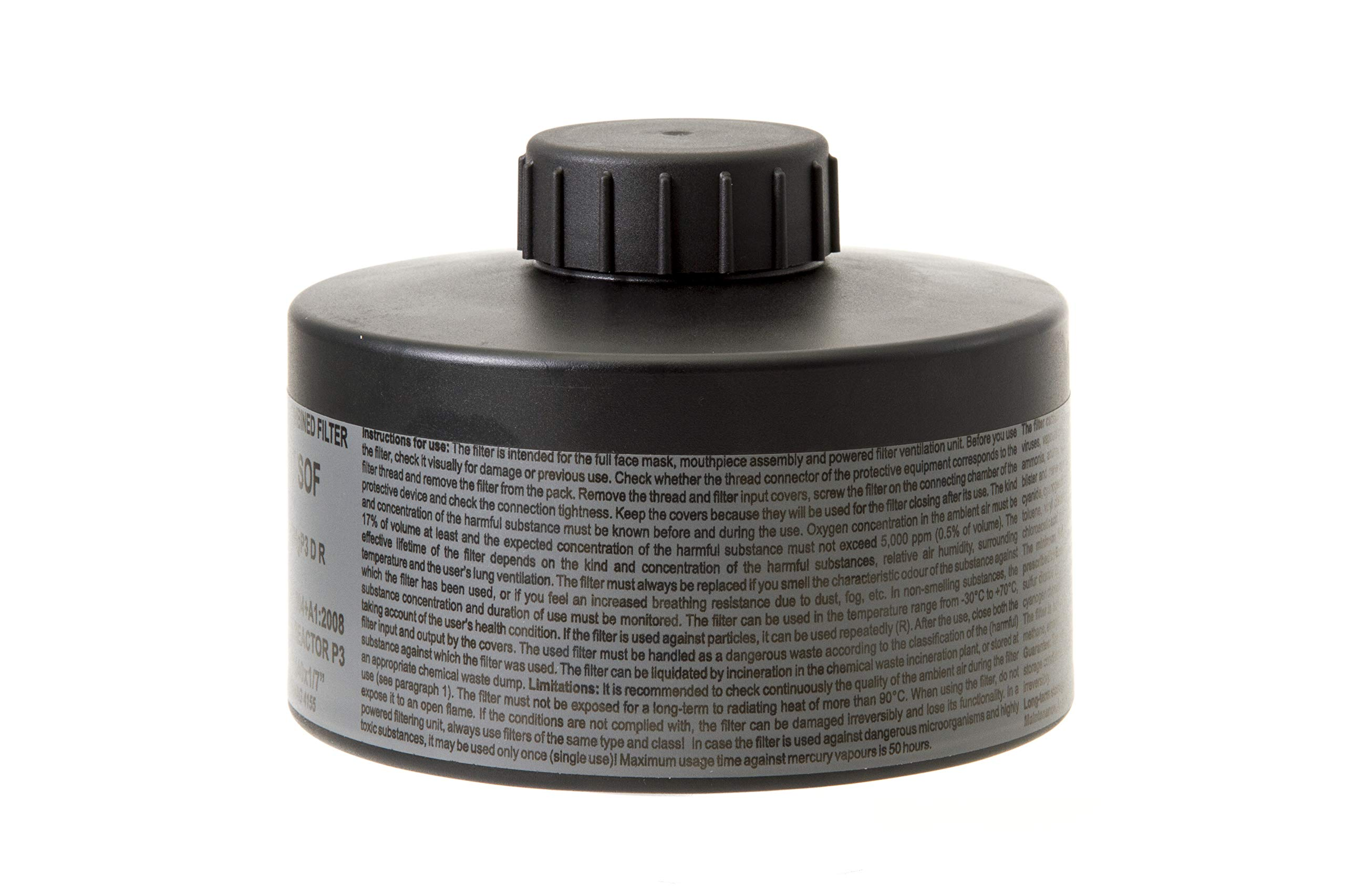 MIRA Multi Gas Vapor Cartridge Respiratory Protection 20 Years Shelf Life CBRN NBC Grade (Mira Filter) by MIRA SAFETY M (Image #4)