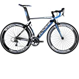EUROBIKE XC7000 Road Bike 54CM Light Aluminum Frame 16 Speed 700C Road Bicycle