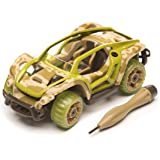 Modarri X1 Camo Build Your Car Kit Toy Set - Ultimate Toy Car: Make Your Own Car Toy - For Thousands of Designs - Real Steering and Suspension - Educational Take Apart Toy Vehicle