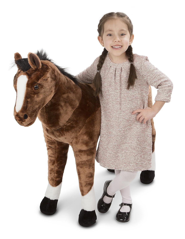 Melissa & Doug Giant Horse - Lifelike Stuffed Animal (nearly 3 feet tall) 2105
