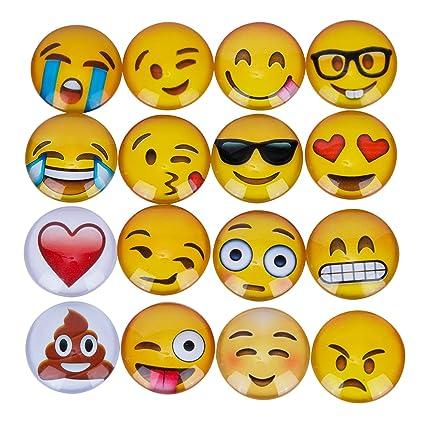 Emoji Juego de imanes, Home Idol, 16 piezas divertido ...