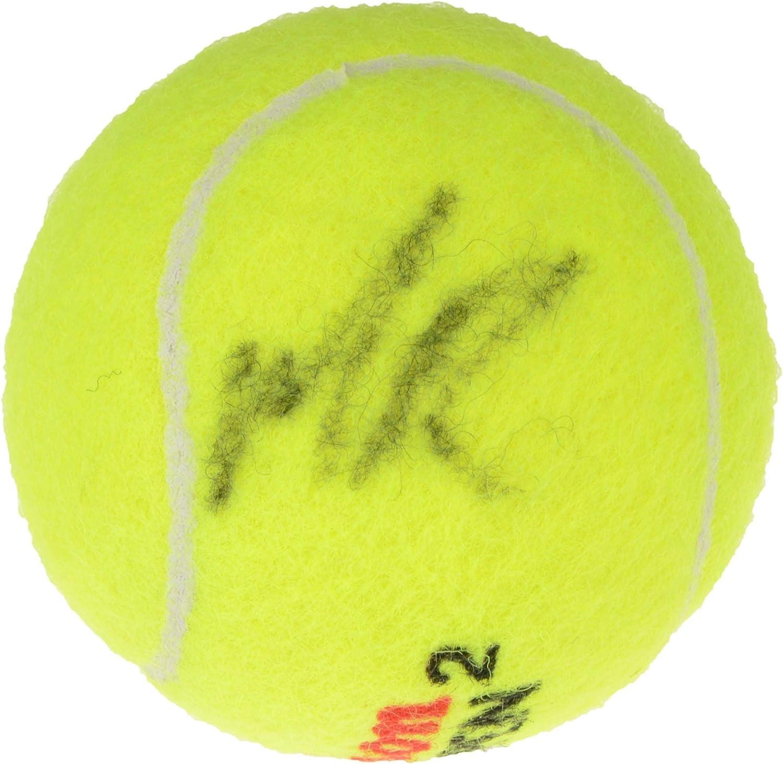 Milos Raonic Autographed Wilson US Open Tennis Ball - Fanatics Authentic Certified - Autographed Tennis Balls