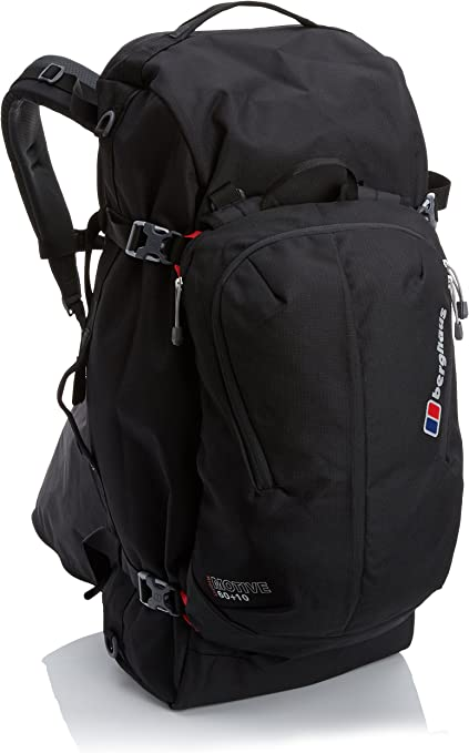 Black//Black Berghaus Motive 60+10 Luggage