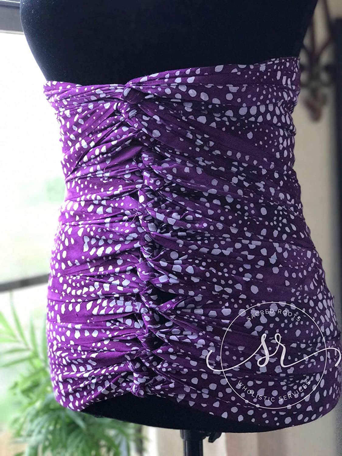 1066a18ac Amazon.com: Lilac on Purple Bengkung Belly Binding-Serged: Health &  Personal Care
