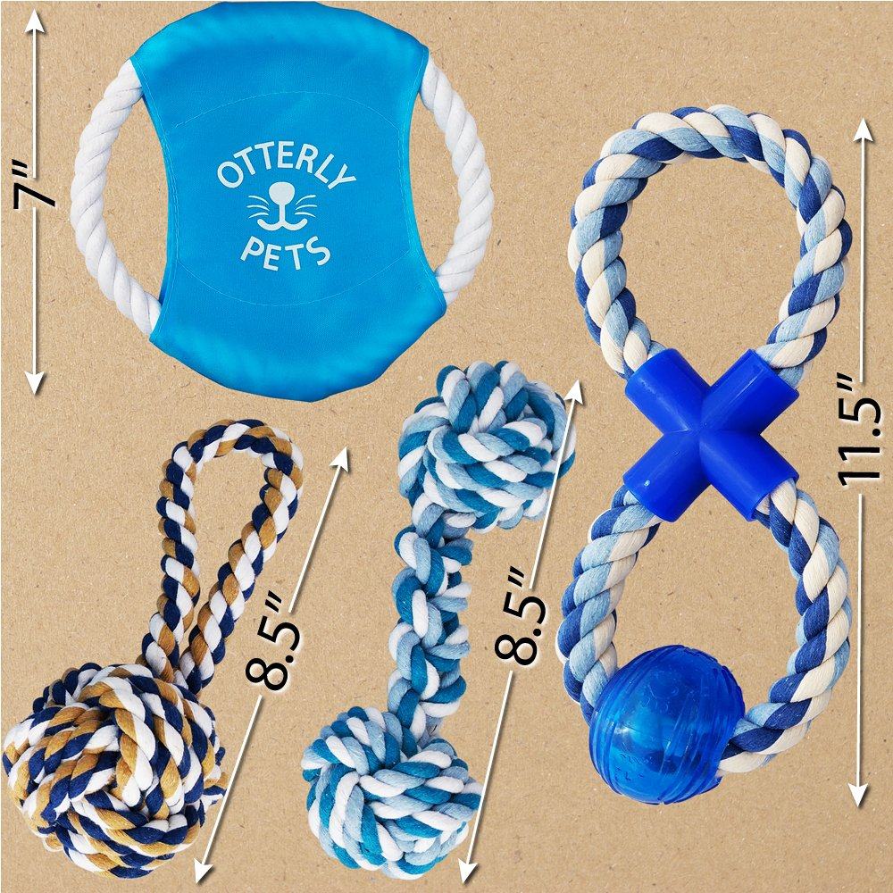 Otterly Pets Puppy Dog Pet Rope Toys - Small to Large Dogs (12-Pack) by Otterly Pets (Image #2)