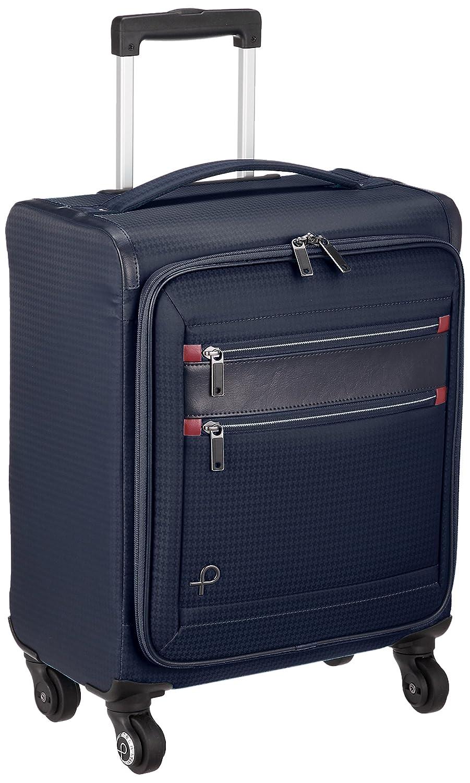 [プロテカ] スーツケース 日本製 フィーナST キャスターストッパー付 機内持込可 24L 40cm 1.9kg 12841 B079M96W7C ネイビー ネイビー