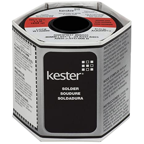 Kester 331 Organic Core Solder 63/37 .031 1 lb. Spool by NTE ...