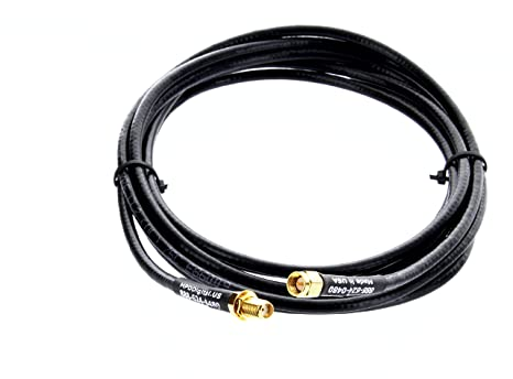 Amazon.com: Recto Hembra SMA macho a SMA cable alargador de ...