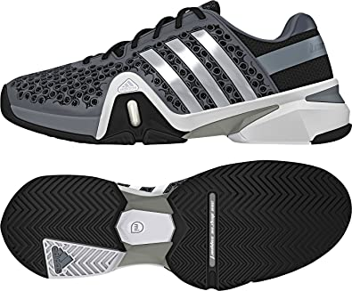 save off 778e0 50e58 adidas Mens Adipower Barricade 8+ Tennis Shoes M25343 Tech Grey 13 UK   Amazon.co.uk  Shoes   Bags