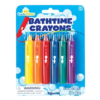 Toysmith Bathtime Crayons: Toys & Games
