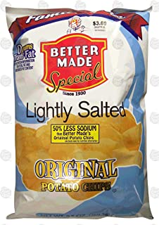 product image for Better Made Family Size lightly salted original potato chips, 9.5-ounce bag (pack of 1)