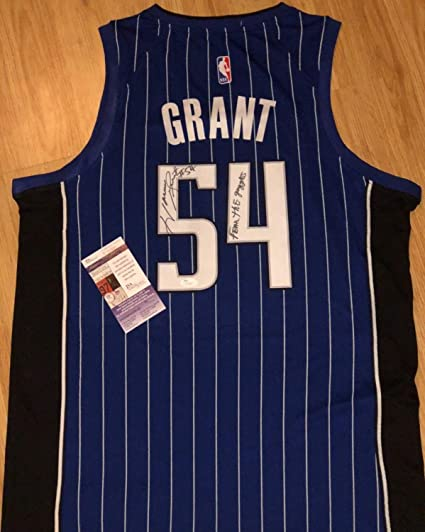 d00ec117d5c4 Horace Grant Autographed Signed Orlando Magic Basketball Jersey Photo Proof  Memorabilia JSA at Amazon s Sports Collectibles Store
