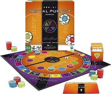 Hasbro 49881 – Juego de Tablero – Trivial Pursuit Casual: Amazon ...