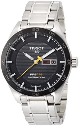 df65aea06d6 Image Unavailable. Image not available for. Color  Tissot t1004301105100 PRS  516 AUTOMATIC GENT WATCH