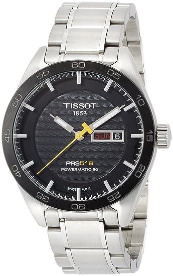 TISSOT RELOJ DE HOMBRE AUTOMÁTICO CORREA Y CAJA DE ACERO T1004301105100: Amazon.es: Relojes