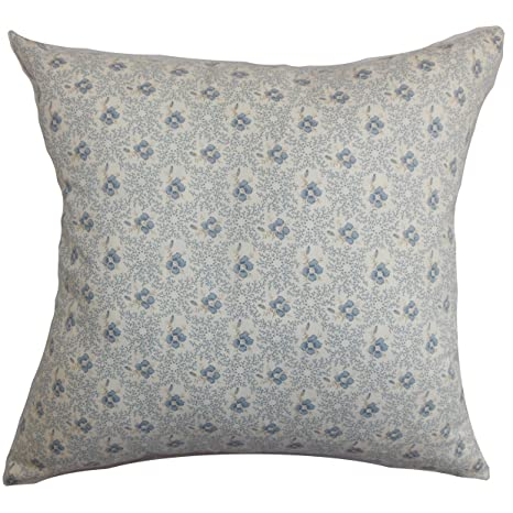 Amazon.com: the pillow collection Deion Floral almohada ...