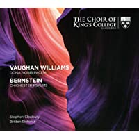 Vaughan Williams: Dona Nobis Pacem/Bernstein: Chichester Psalms
